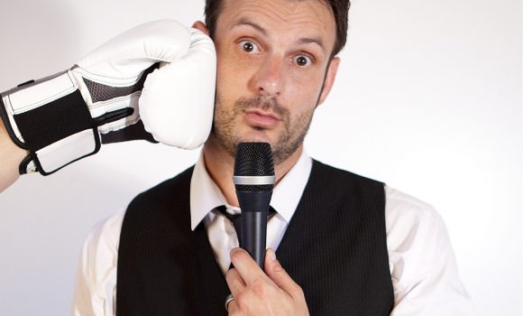 Mark Palmer at The Comedy Agency